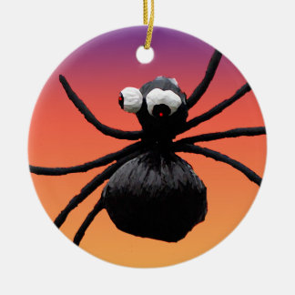 Araña tonta de Halloween Ornato
