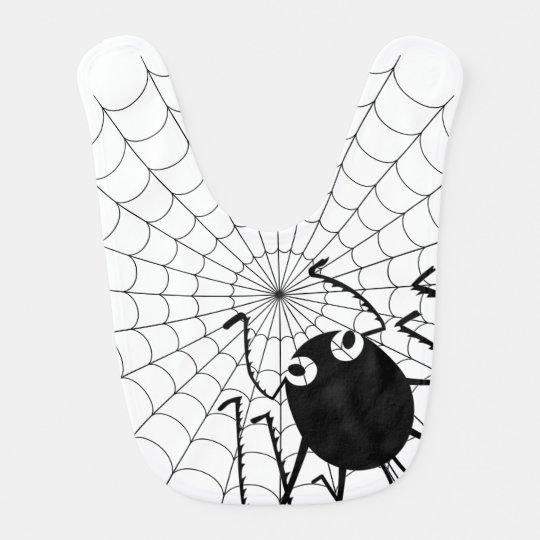 Araña y Web Baberos
