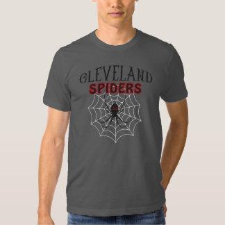 Arañas de Cleveland Camiseta