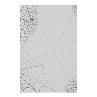 Arañas de Spiderwebs Halloween Papelería