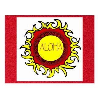 arándano, postal del SOL de la HAWAIANA