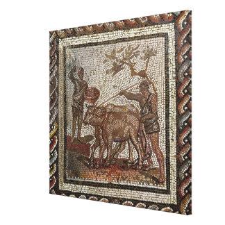 Arando, del ANUNCIO Santo-Román-en-Galentury Lona Estirada Galerias
