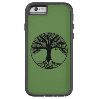 Árbol abstracto del caso del iPhone 6 de la vida Funda Tough Xtreme iPhone 6