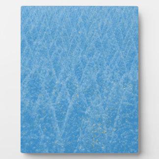 árbol azul placa expositora