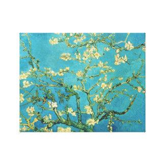 Árbol de almendra floreciente - Van Gogh Impresión En Lienzo