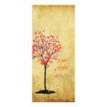 Árbol de arce del vintage de PixDezines/rosa+naran Anuncios