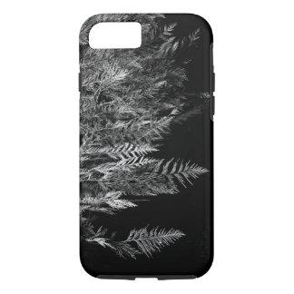 Árbol de cedro blanco y negro funda iPhone 7