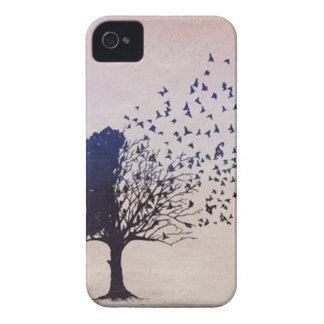 Árbol de desintegración iPhone 4 funda