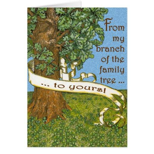 Árbol de familia Notecards Tarjetas