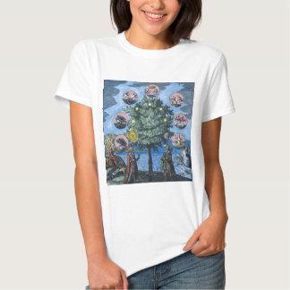Árbol de la alquimia camisetas