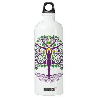 Árbol de la botella de agua de la vida