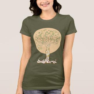 Árbol de la camiseta de la vida