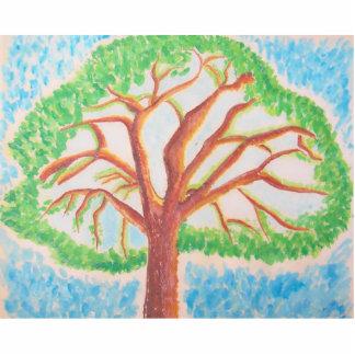 Árbol de la escultura de la Vida-foto Escultura Fotografica