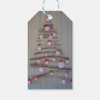 Árbol de la etiqueta de Navidad