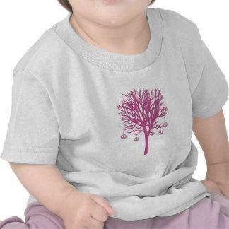 Árbol de la paz camisetas