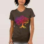 Árbol de la paz camiseta