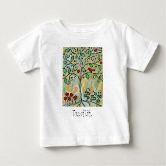 árbol de la vida camiseta para bebé
