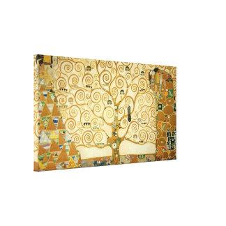 Miles de diseños de lienzos de arte de Klimt en Zazzle