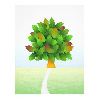 Árbol de la vida flyer personalizado