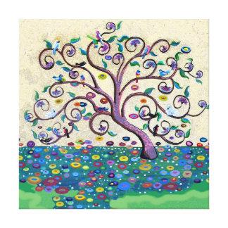 Árbol de la vida impresión en lienzo