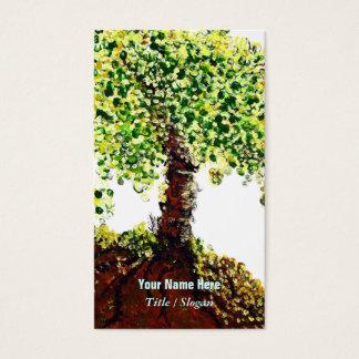 Árbol de la vida tarjeta de visita