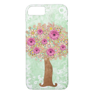 Árbol de las flores funda iPhone 7