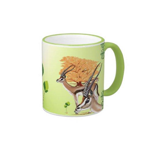 Árbol de los Gazelles n Taza De Café