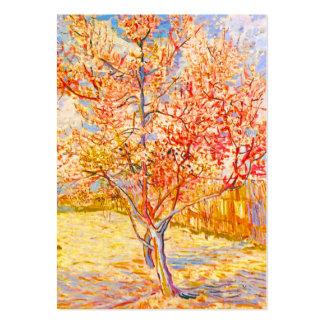 Árbol de melocotón de Vincent van Gogh en arte del Tarjetas De Visita Grandes