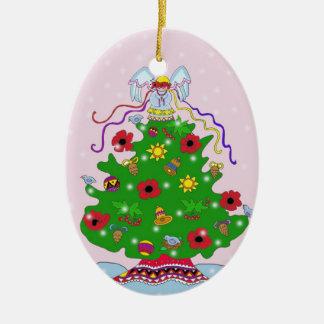 Árbol de navidad adorno para reyes