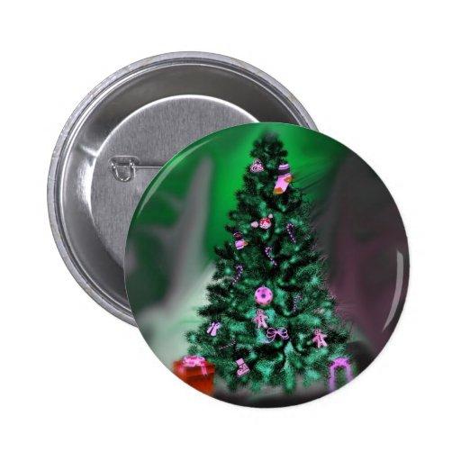 Árbol de navidad pins