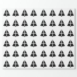 Árbol de navidad de Cornualles de la bandera Papel De Regalo