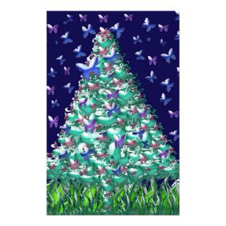 Árbol de navidad de las naturalezas folleto 14 x 21,6 cm
