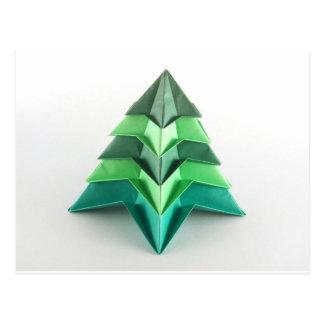 Árbol de navidad de Origami Postal