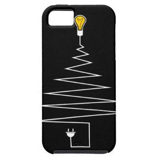 Árbol de navidad eléctrico funda para iPhone SE/5/5s