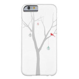 Árbol de navidad escaso funda de iPhone 6 barely there