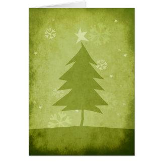 Árbol de navidad/Felices Navidad Tarjeta De Felicitación