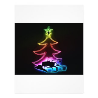 árbol de navidad flyer personalizado