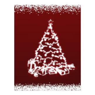 árbol de navidad tarjeton