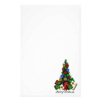 Árbol de navidad inmóvil papelería