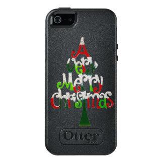 Árbol de navidad muy feliz funda otterbox para iPhone 5/5s/SE