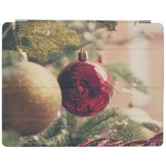 Árbol de navidad y decoración cover de iPad