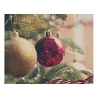 Árbol de navidad y decoración cuadro