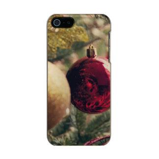 Árbol de navidad y decoración funda para iPhone 5 incipio feather shine