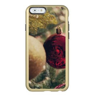 Árbol de navidad y decoración funda para iPhone 6 plus incipio feather shine