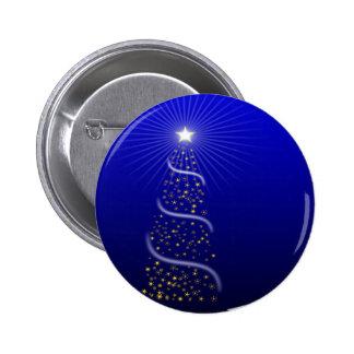 Árbol de navidad y estrella pins