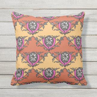Árbol de Outdoor_Indoor_World-Traveler-Exotic-Palm Cojín Decorativo