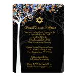 Árbol de PixDezines del mitzvah de la vida Invitación