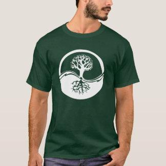 Árbol de Yin Yang de la vida Camiseta