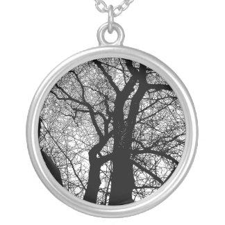 Árbol del alto contraste grimpola personalizada