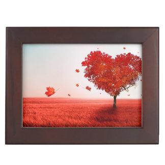 Árbol del amor cajas de recuerdos
